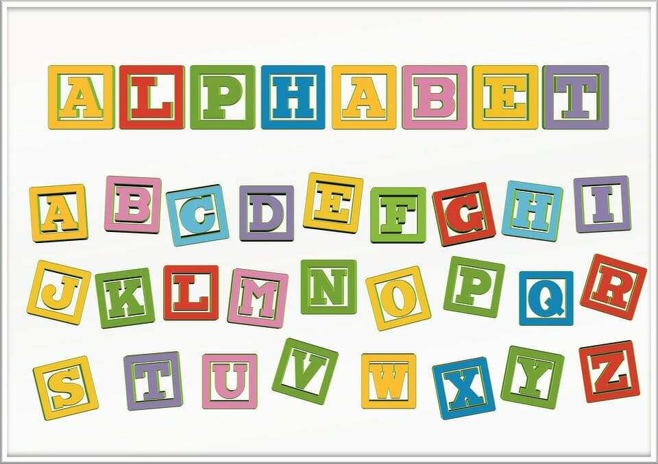 DIY Travel Games: Alphabet Learning